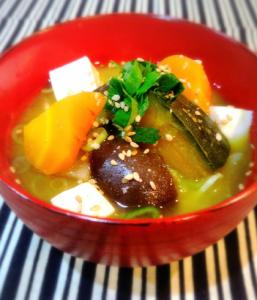 夏野菜のお味噌汁